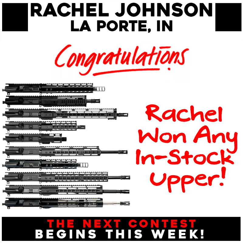 WINNER!! Congratulations to Rachel Johnson of La Porte, IN! Rachel has won her choice of in-stock upper in this week's giveaway! Rachel, send us a PM and we'll let you know how to claim your prize! https://t.co/rvQvTpISCH