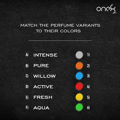 How well do you know one8 Fragrances? Match the variants with their colors.   #one8Fragrances #ScentialsWorld @imVkohli