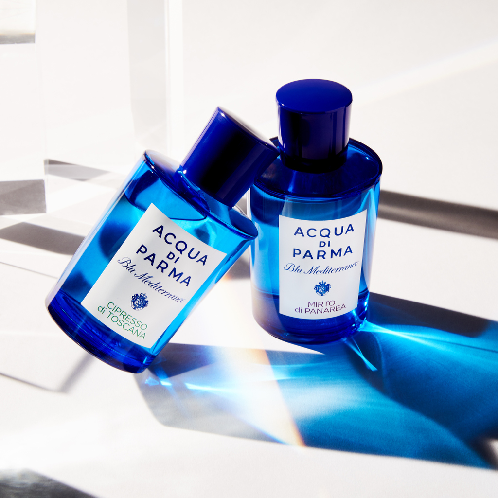 Blu Mediterraneo Mirto di Panarea by @acquadiparma_official will enchant you with its uplifting fragrance, bringing a sense of renewal to your soul. It contains notes of Myrtle, Basil, Italian Lemon, Italian Bergamot. Click link in bio to add it to your queue. #Scentbird https://t.co/z9Z1BsWzpI