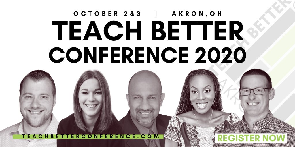 Thank you for making #TeachBetter19 an amazing SOLD OUT event! Let's make #TeachBetter20 even better!  The #TeachBetter Conference brings together passionate educators from around the country who are driven to be Better for their students.