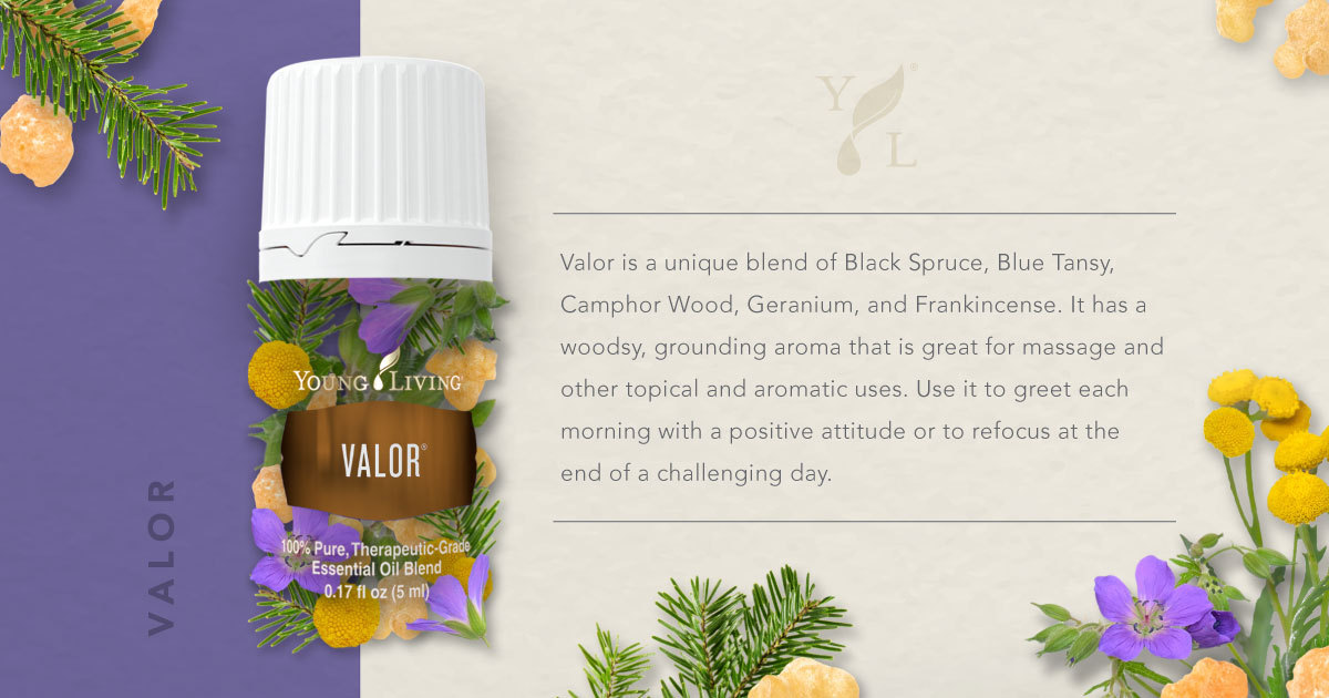 Young Living Essential Oils On Twitter Jumpstart Your Day With Valor Essential Oil Blend Yleo