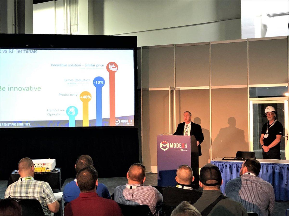 Both https://t.co/CTntDK3ppr seminars at #modex2020 were crowned with success. Missed them? Visit our booth #7292 and our presenters Lee Rector and Neil O'Kane will answer all your questions #LVS #WMS #Logisticsvisionsuite  https://t.co/HmYDwV7AvX https://t.co/nzlxqiBSot https://t.co/I8dF8hwm6A