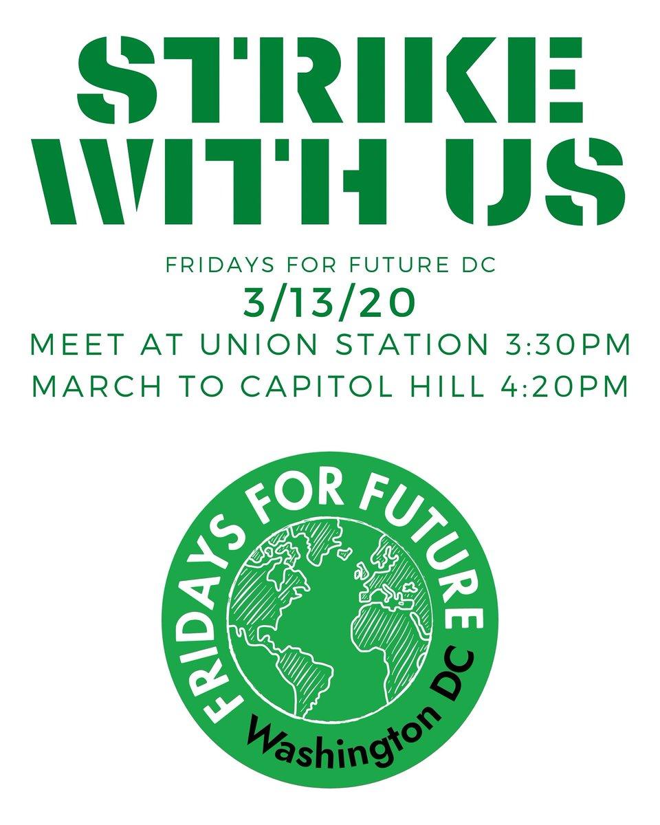 Fridays for Future DC 🇺🇸 (@fridaysfuturedc) on Twitter photo 12/03/2020 14:45:31