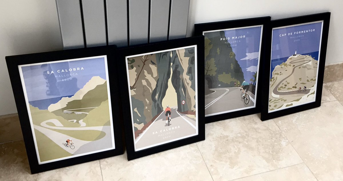 The Mallorca cycling season is now in full swing! If you love cycling in Mallorca take a look at: http://JensCyclingArt.com #Mallorca #cyclinglife #mallorcacycling #sacalobra #majorcacycling #majorca #capdeformentor #puigmajor #cyclingmallorca #cyclingart #cycleart #cyclist #artpic.twitter.com/wOSzqe6tbo
