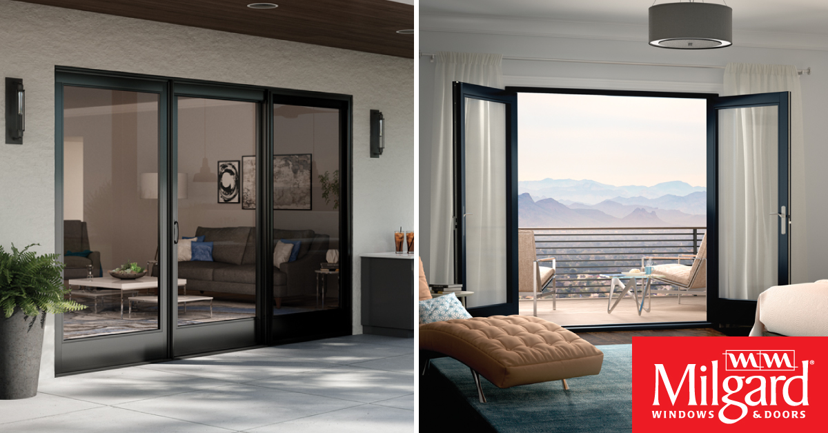 Milgard On Twitter Which Patio Door Is Your Favorite Sliding Or Swinging