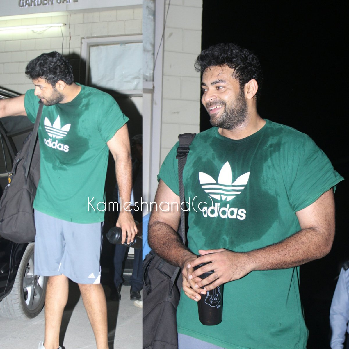 Actor #varuntej sweating it out for boxer papped post gym session  @kamlesh_nand @IAmVarunTej  #Tollywood #southpaparazzi pic.twitter.com/9EtaZzuj6w