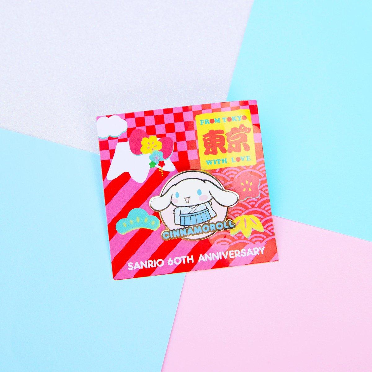 Details about  /Sanrio 60th Anniversary Cinnamoroll Cinnamonroll Friend Of The Month Pin