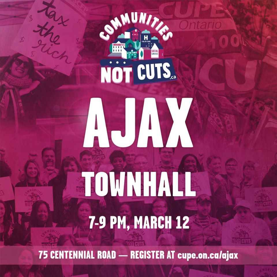 See you there! #CommunitiesNotCuts
