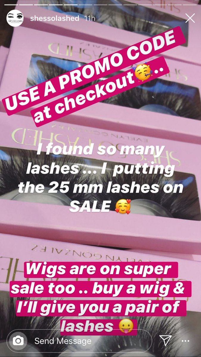 """Use Promo Code """"JAMAICA"""" this lashes will have you looking like a Bad BIHHH  you won't regret purchasing this lashes !!!! #lashes #chicagolashes #bestlashes #shessolashed #makeupartist #makeup #maquillajepic.twitter.com/GC9BL3VtRQ"""