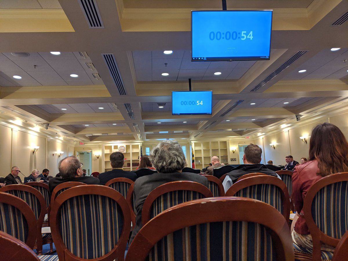 Thank you to everyone who showed up in Annapolis today to testify in support of HB1461!