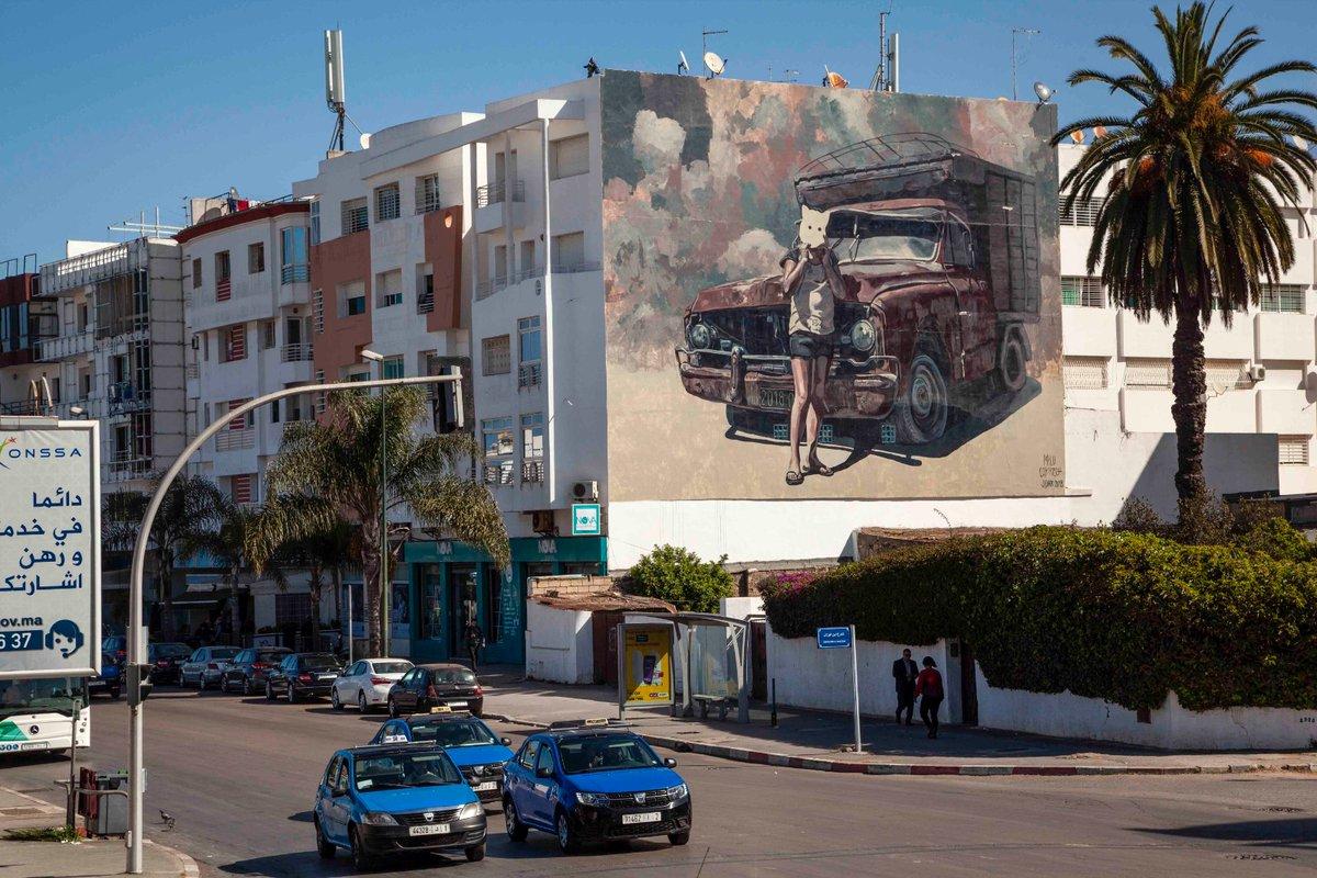 Street art in #Rabat #Morocco with @PaoloBoumanpic.twitter.com/QZ2YHXdcqH