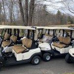 Image for the Tweet beginning: New cart fleet just arrived!