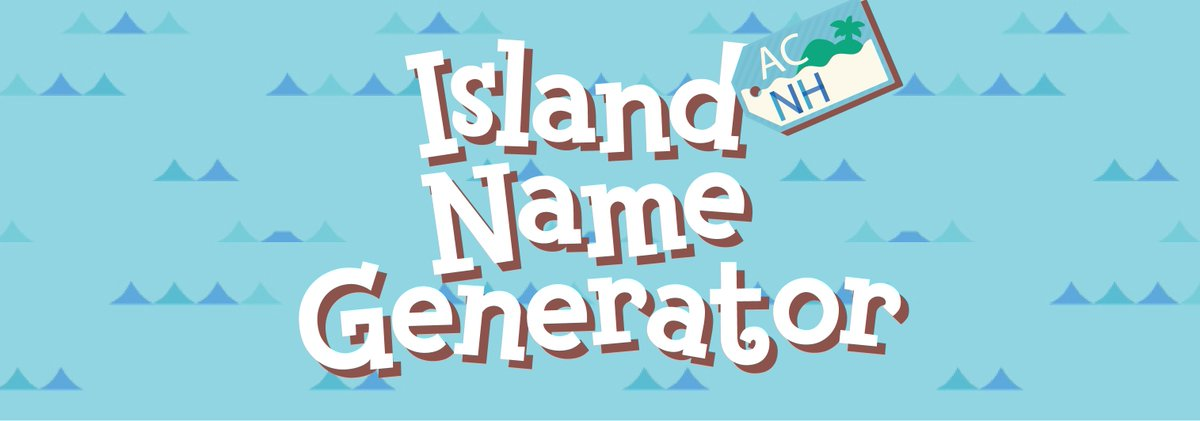 Made This Island Name Generator For