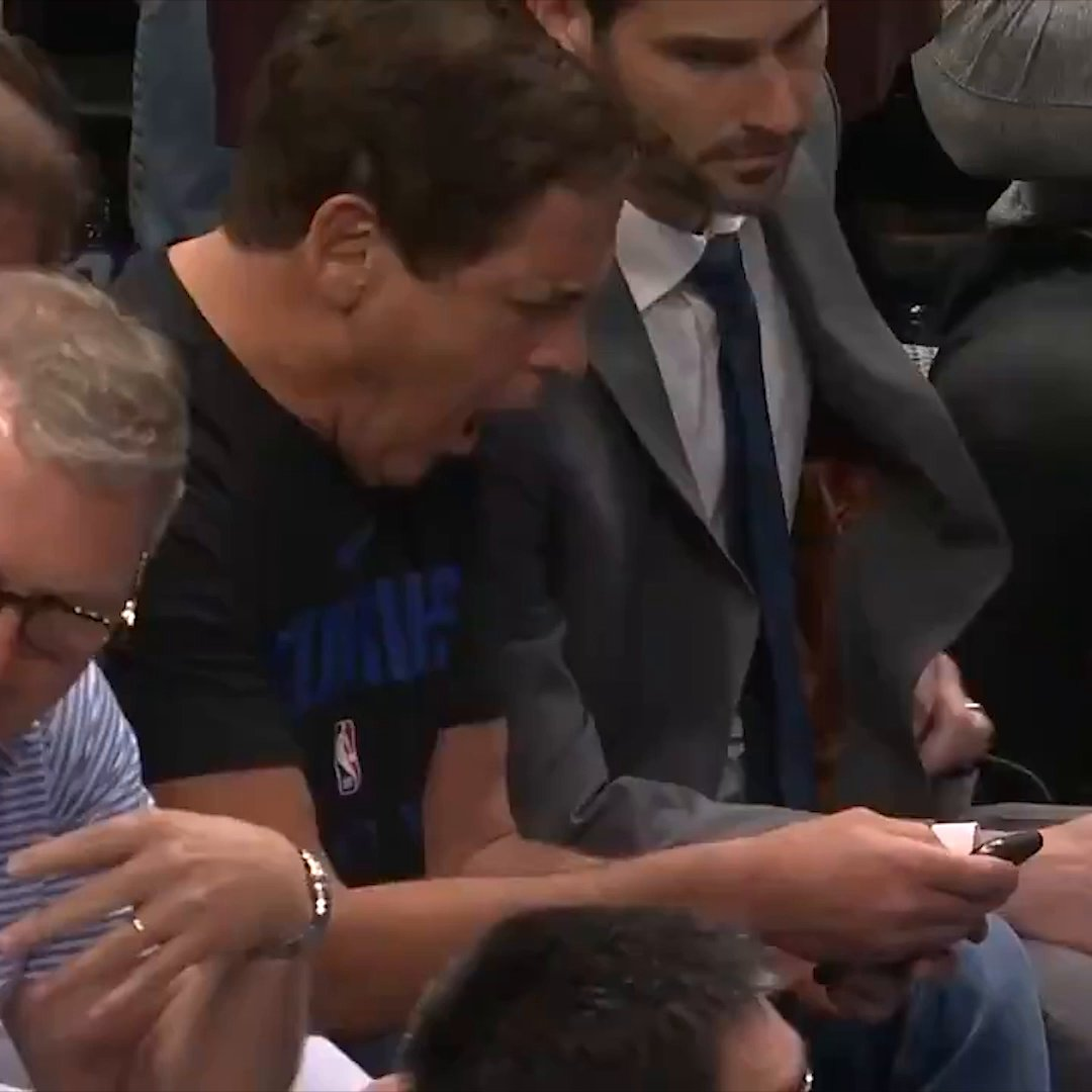 "ESPN on Twitter: ""Mark Cuban reacts moments after the NBA season ..."