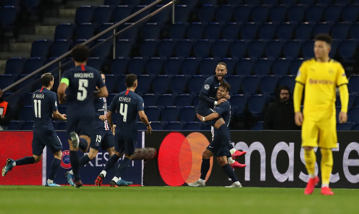 Xem lại bóng đá PSG vs Dortmund, Champions League – 12/03/2020