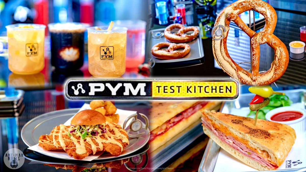 Pym Test Kitchen, and a selection of their dishes.