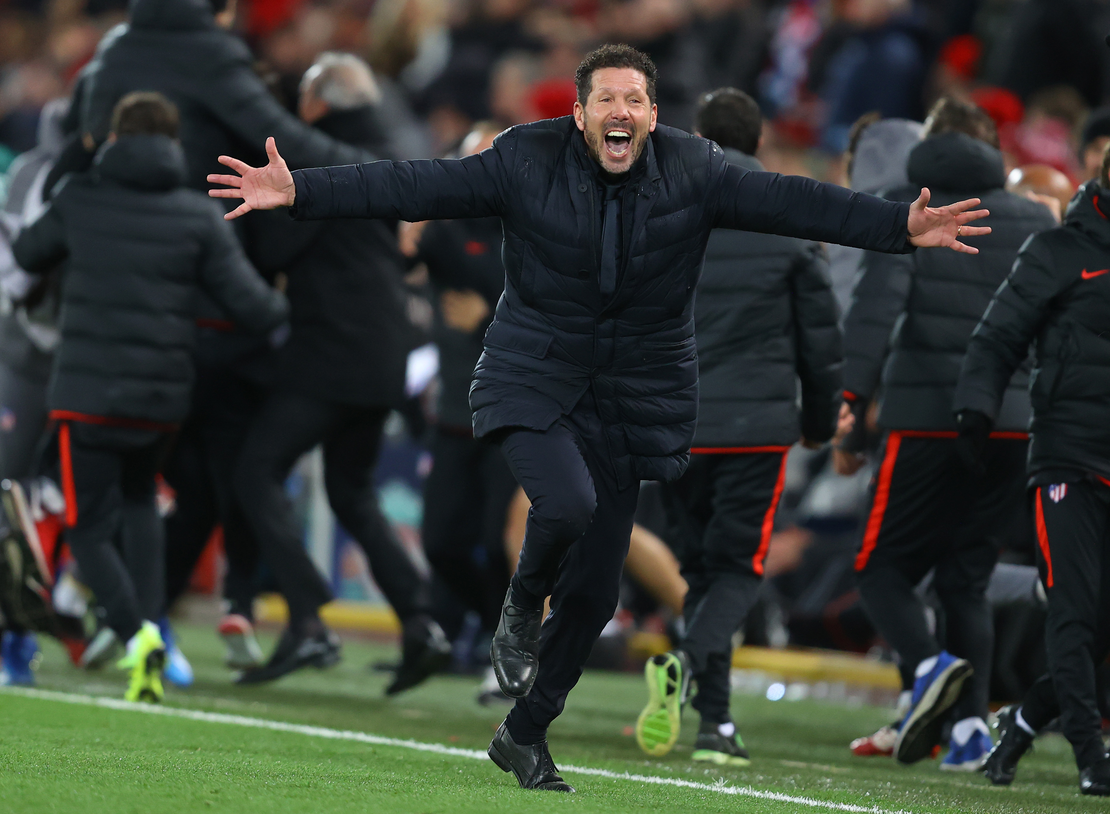 UEFA Champions League Simeone