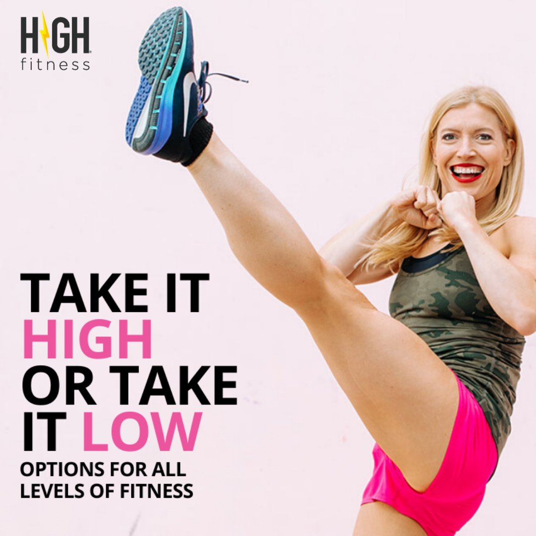 It's YOUR workout, after all. https://highfitness.com/  #cardioqueen #fitgoalspic.twitter.com/uruu2NqE44
