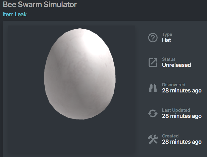 Bee Swarm Leaks On Twitter Small Egg Hunt Leak Https T Co