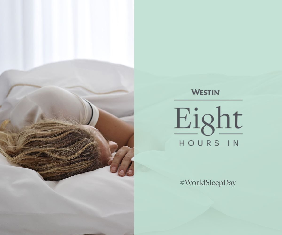 En este Día Mundial de Sueño queremos recordarte lo importante que es dormir ocho horas completas. 🌙 Toma en cuenta que un descanso efectivo, profundo y constante te ayuda a disfrutar mejor cada día.   #WestinGDL  #SleepWell #WorldSleepDay https://t.co/1dLK0bIL0h
