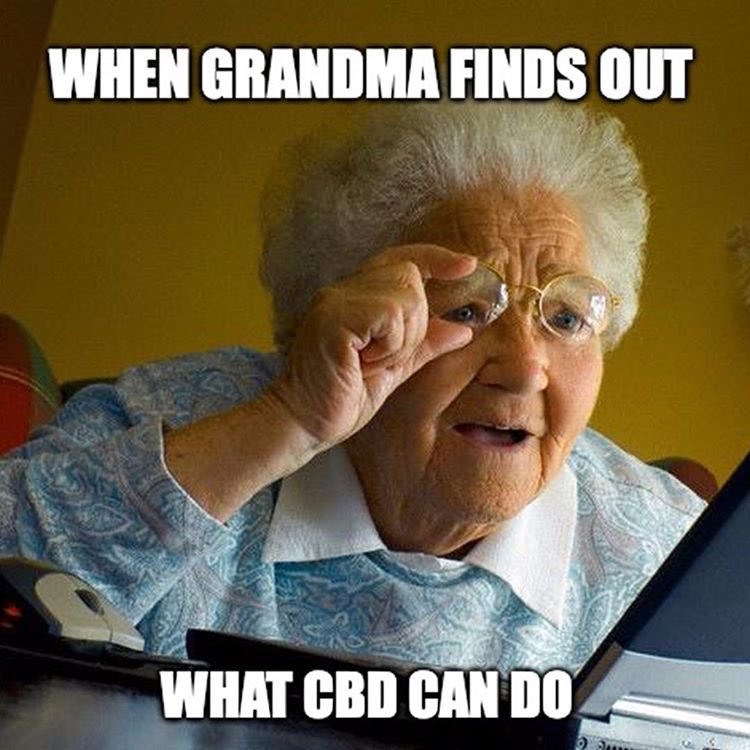 Cbd Plaza On Twitter When Grandma Finds Out What Cbd Can Do