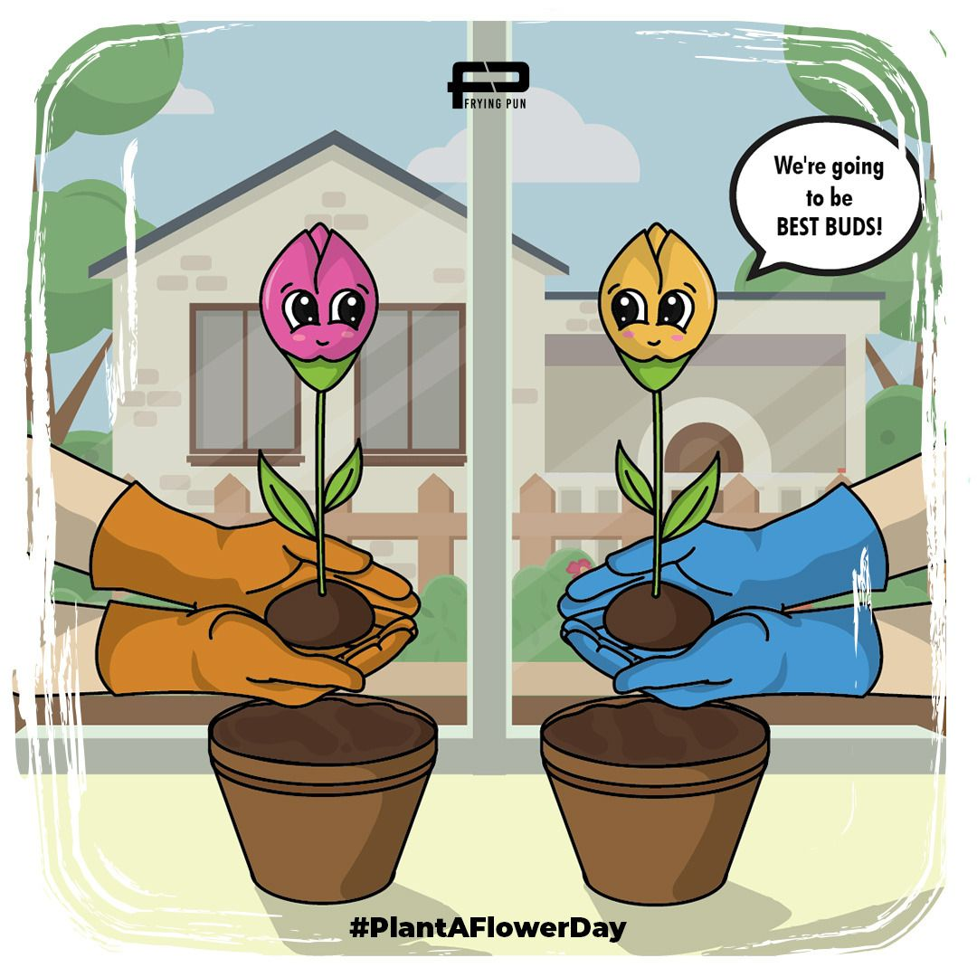 Never soil an opportunity to make new friends! . . . #plantaflowerday #flowerpower #cute #puns #flower #flowers #bud #buds #bestbuds #pun #punverse #punsworld #tshirt #tshirts #merch #merchandisepic.twitter.com/SKhmw9eQ92