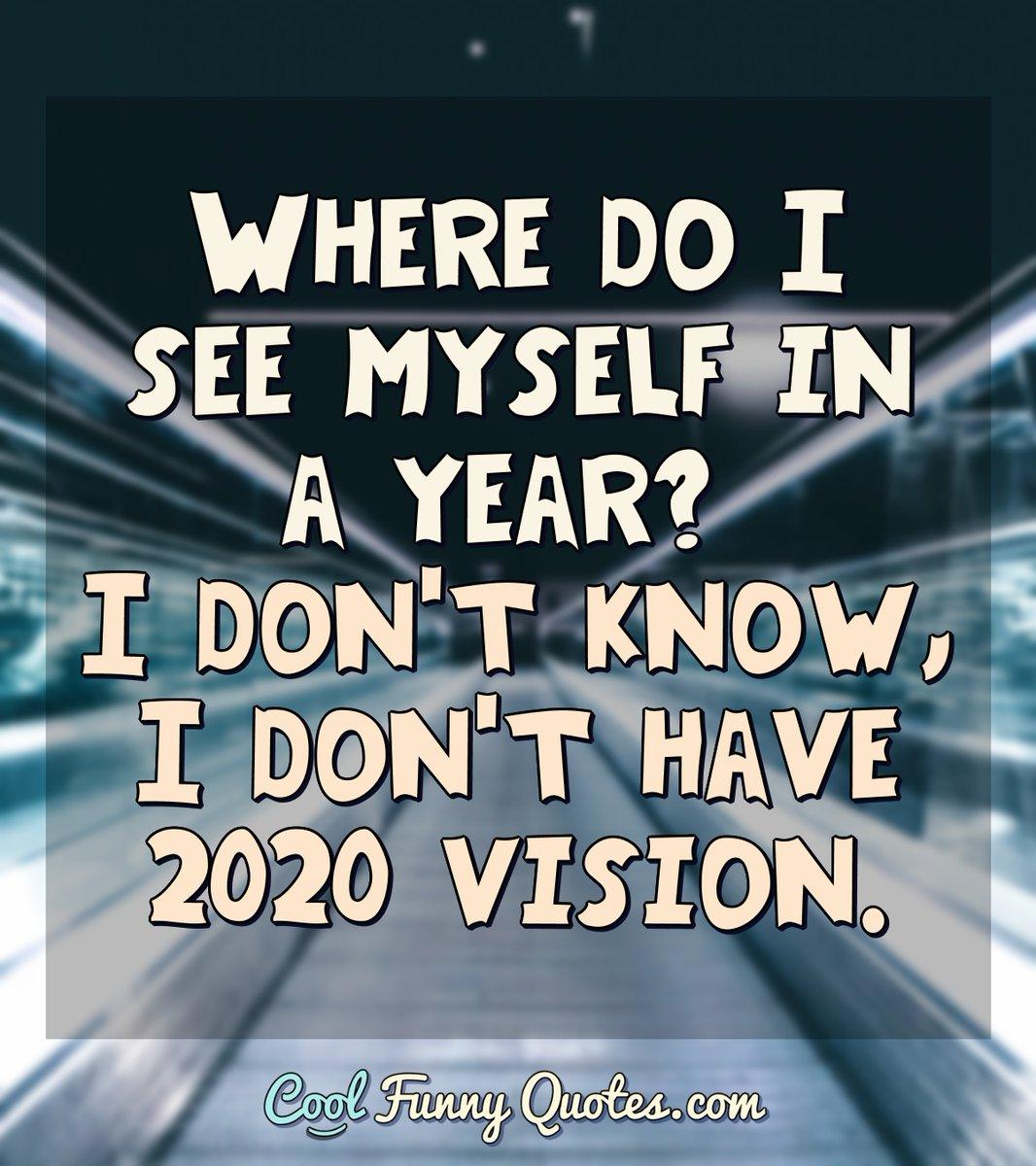I DON'T HAVE VISION