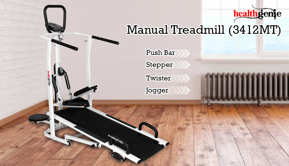 Healthgenie 3412MT 4 in 1 Manual Treadmill comes with  features such as Twister, Stepper and Push Up Bars.  For product details Please visit :  https:// amzn.to/36oB5N2       #treadmill #fitness #workout #manualtreadmill #workoutmachine #jogging #homegym #fitfam #treadmillworkout <br>http://pic.twitter.com/SOqPI9uhIz