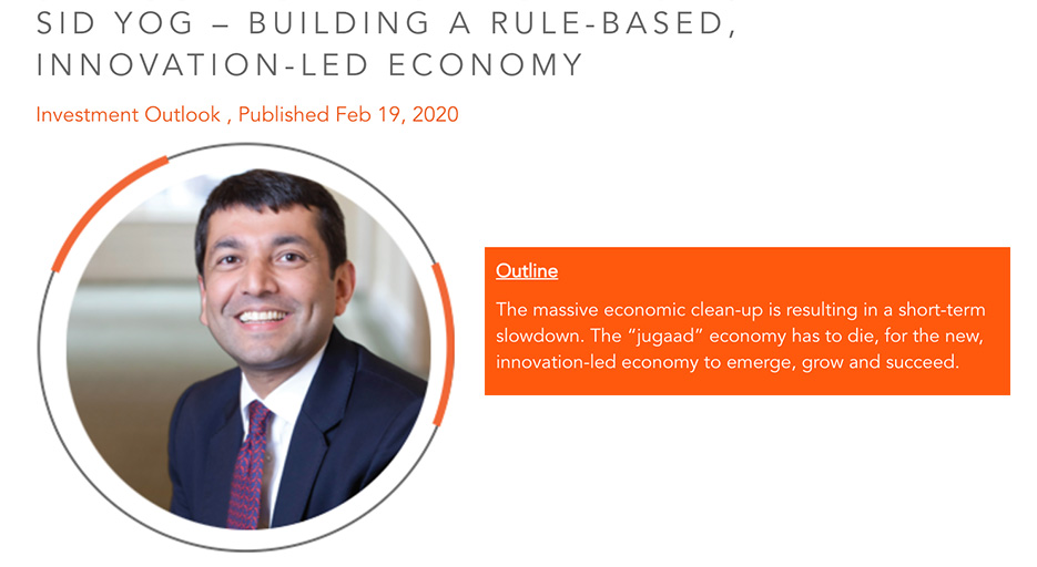 """Here's an insightful write-up by our Founder & Chairman, @sidyog , on """"Building a Rule-Based, Innovation-Led Economy"""", featured on @sanctum_wealth .  #SanctumOutlook #5TrillionEconomy #XanderGroup #virtuousretail #WeAreVirtuousRetail  https://t.co/7auHRsjQPP https://t.co/lcJgfzrWv7"""