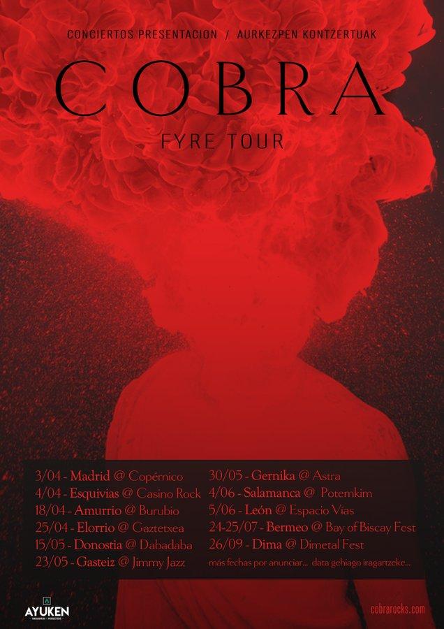 COBRA - FYRE (NUEVO DISCO 2020) ES52LqwWAAEvXb5?format=jpg&name=900x900