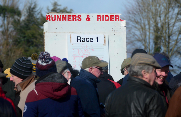 Weekend Entries - Irish Point to Point
