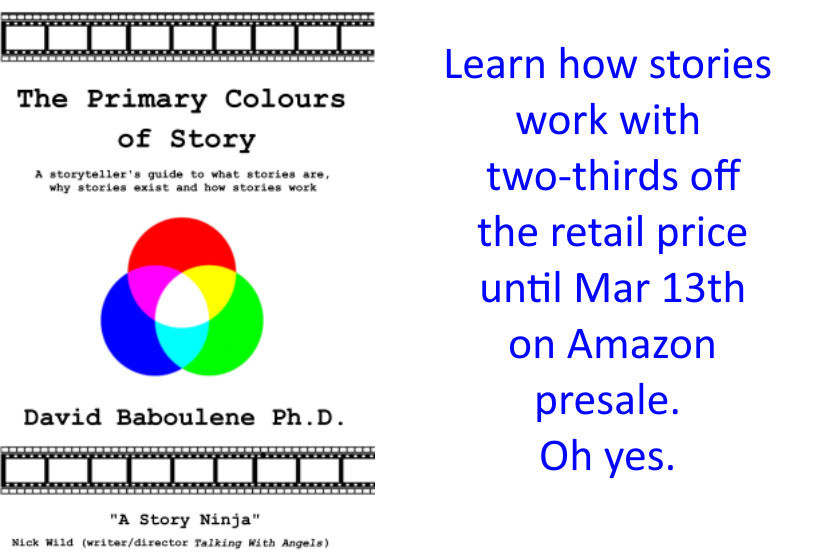Last chance to get the best guide to how stories work with the 66% discount... I hope you love it! David