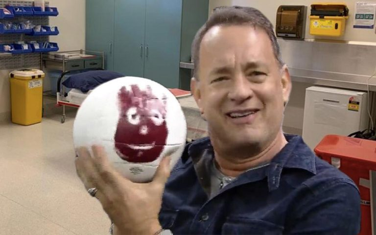 Gold Coast Hospital Staff Roll In A Volleyball To Keep Tom Hanks Company In Quarantine: https://t.co/2AL3ZVyB9r https://t.co/tKZIQFYIki