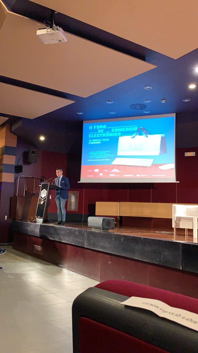 Hoy participamos en el II Foro de Comercio Electrónico de Córdoba #ecommerce_cordoba #SEPALO