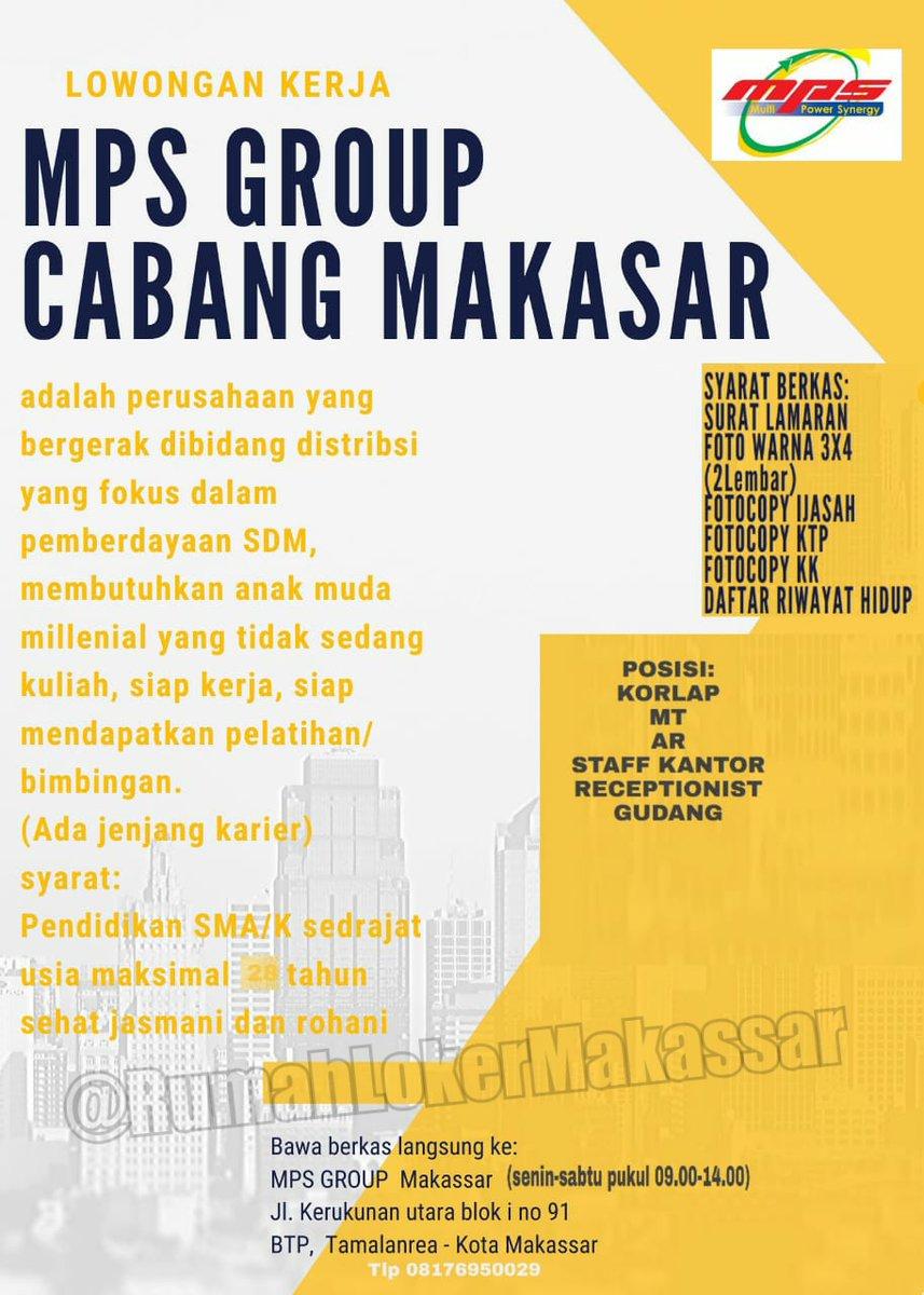 Rumah Loker Makassar On Twitter