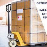 Image for the Tweet beginning: Packing a pallet efficiently for