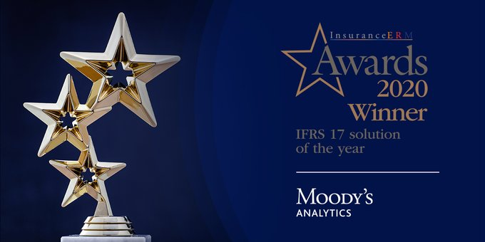 Moody's Analytics Wins IFRS 17 Solution of the Year at InsuranceERM Awards