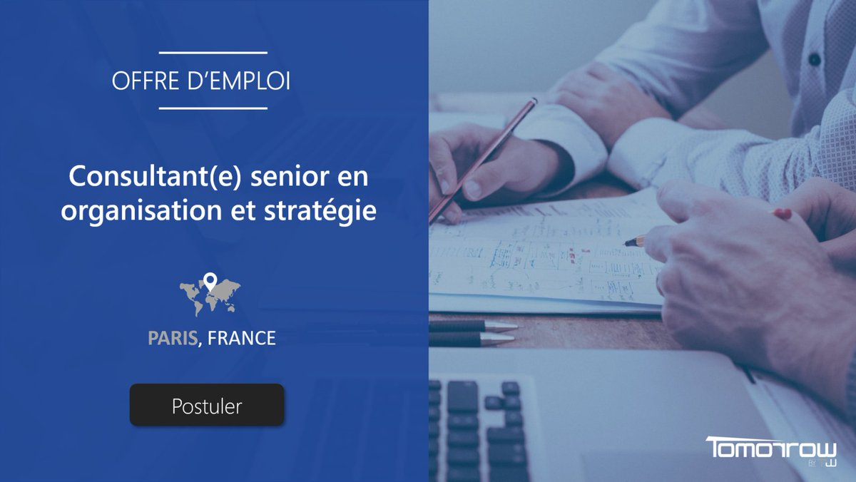 Image for the Tweet beginning: 🔎 #TeamWorkCareers Nous cherchons pour notre