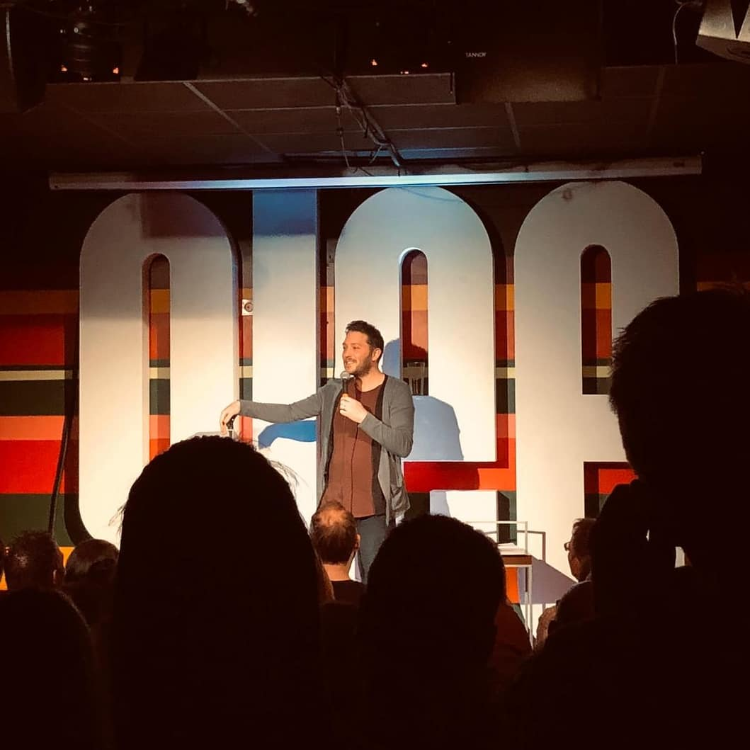 We had the pleasure of hosting the hilarious @RonJichardson in the studio last night with his WIP show   Support came from our very own Andy Robinson! Who was there laughing with us?  #thegleeclub #gleeclubbirmingham #jonrichardson #andyrobinsonpic.twitter.com/GJN7rce1C9