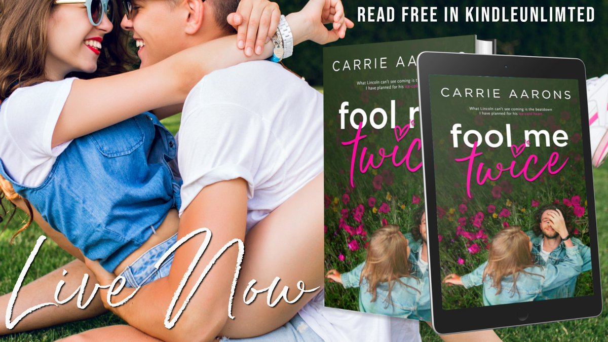 Image result for fool me twice carrie aarons