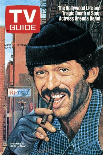#BruceWeitz of the NBC police drama #HillStreetBlues was illustrated on the cover of #TVGuide, this date in 1983.pic.twitter.com/mzL8AnME2c