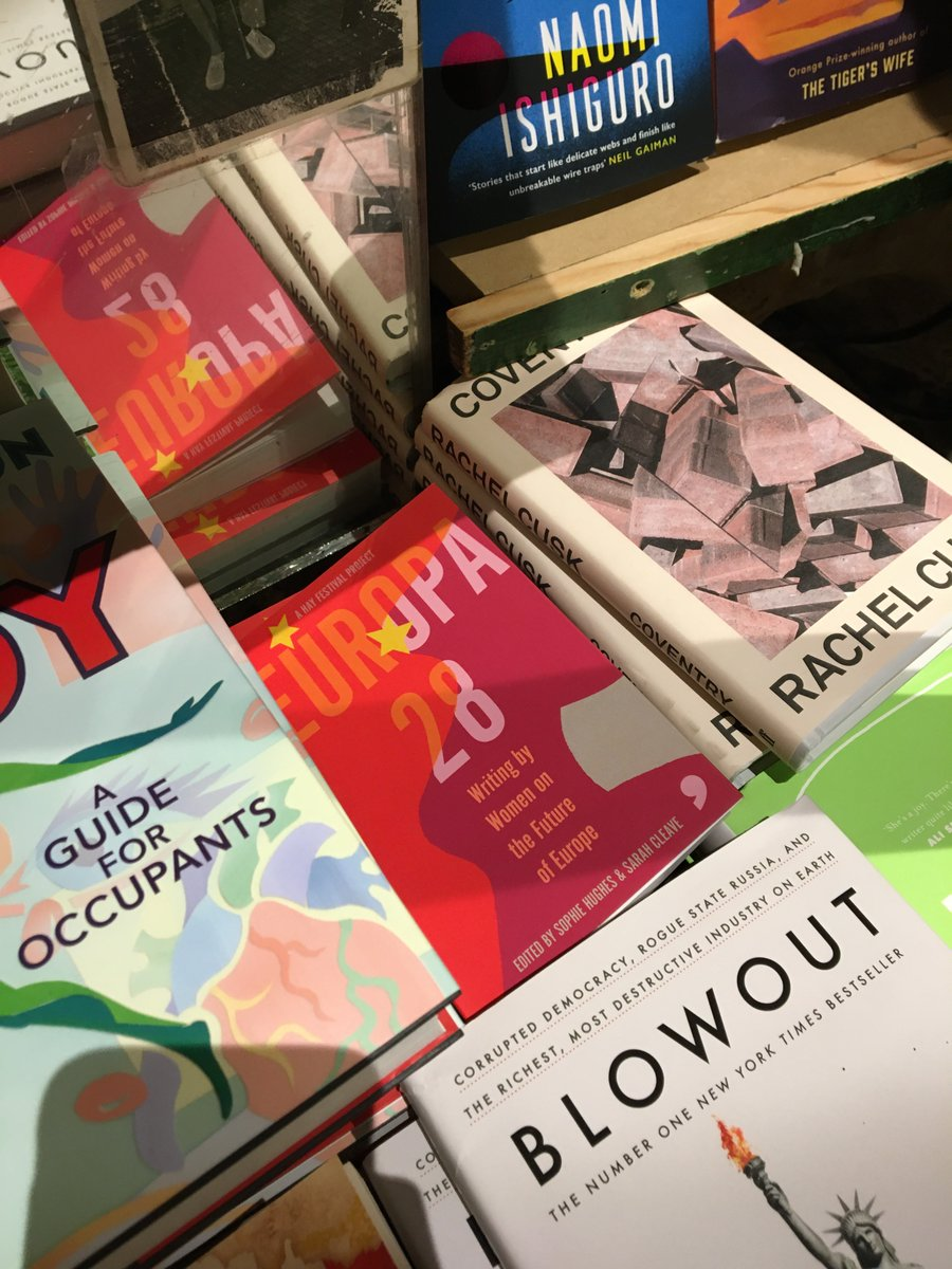 A few shots of our #Europa28 book out in the wild.