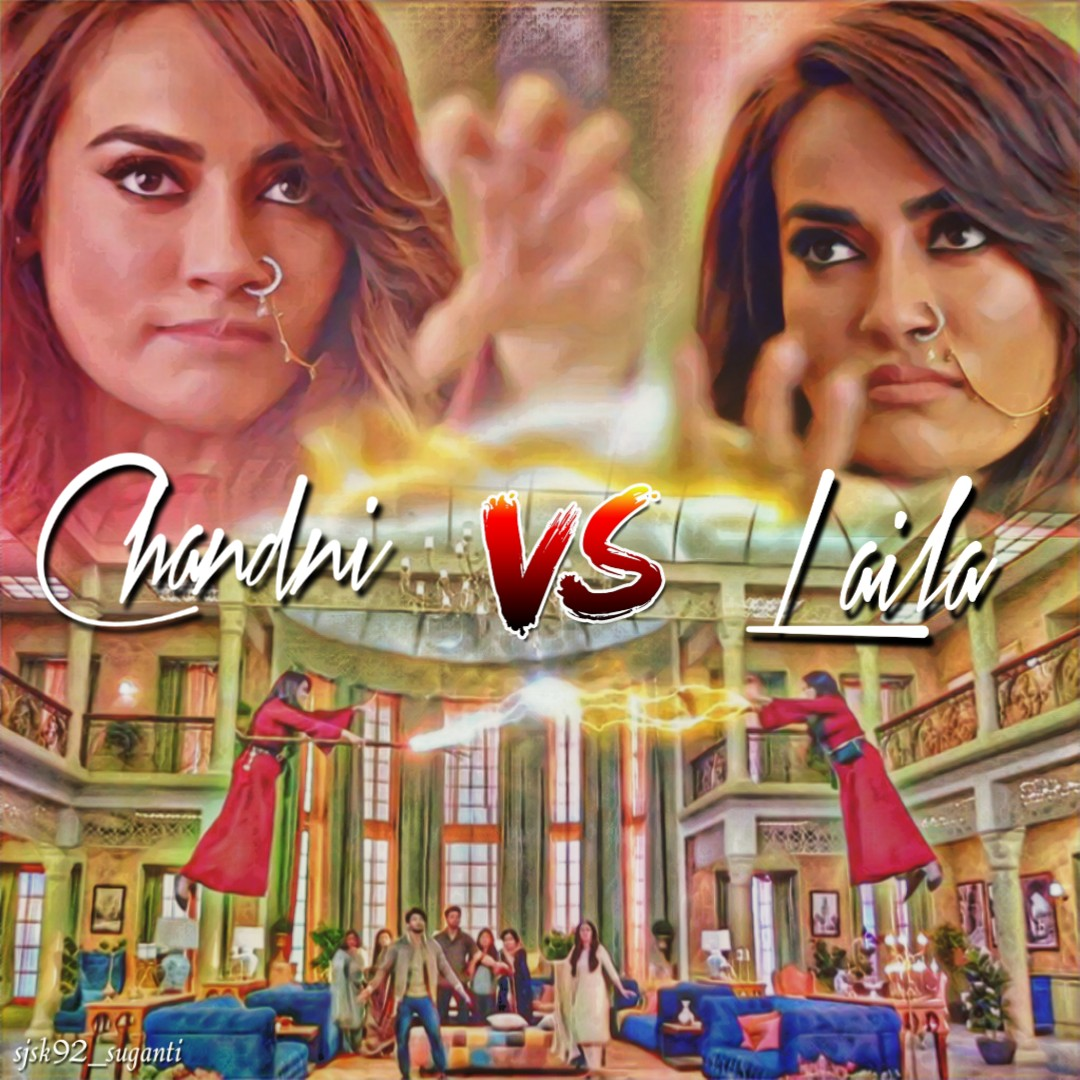 Tune in to #YehhJaduHaiJinnKa at 8.30pm today on @starplus to watch the intense showdown between Laila & Chandni,the red moon princesses. @SurbhiJtweets #SurbhiJyoti #Laila #Chandni