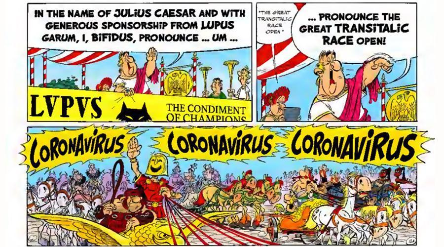 asterix und obelix coronavirus
