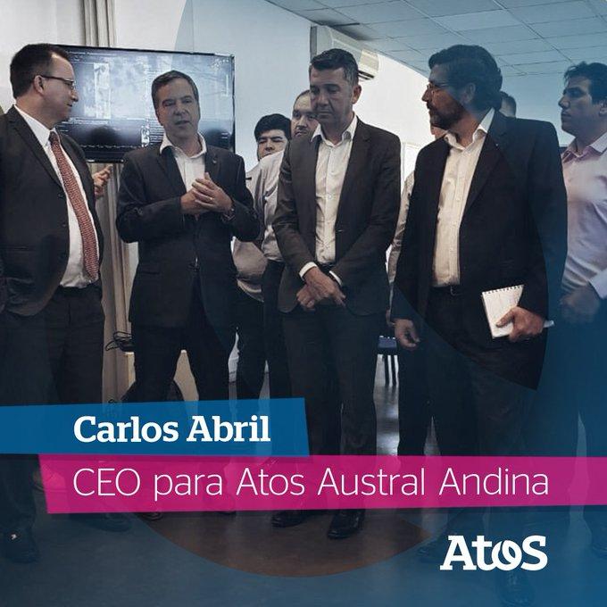 Carlos Abril, CEO de Atos Argentina, Colombia y Uruguay asume el liderazgo de Atos...