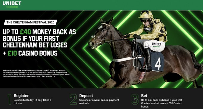 Unibet Horse Racing Bonus