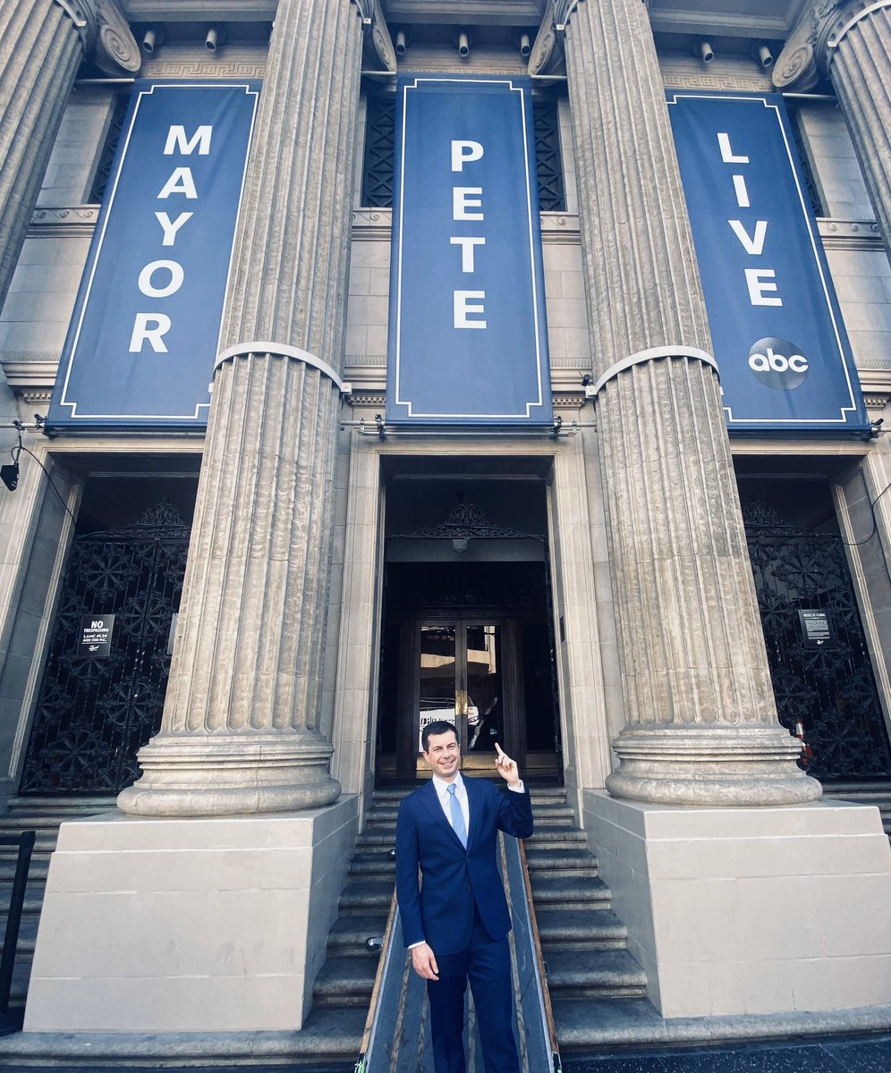 MAYOR PETE GUEST HOSTS #KIMMEL TONIGHT! @PeteButtigieg