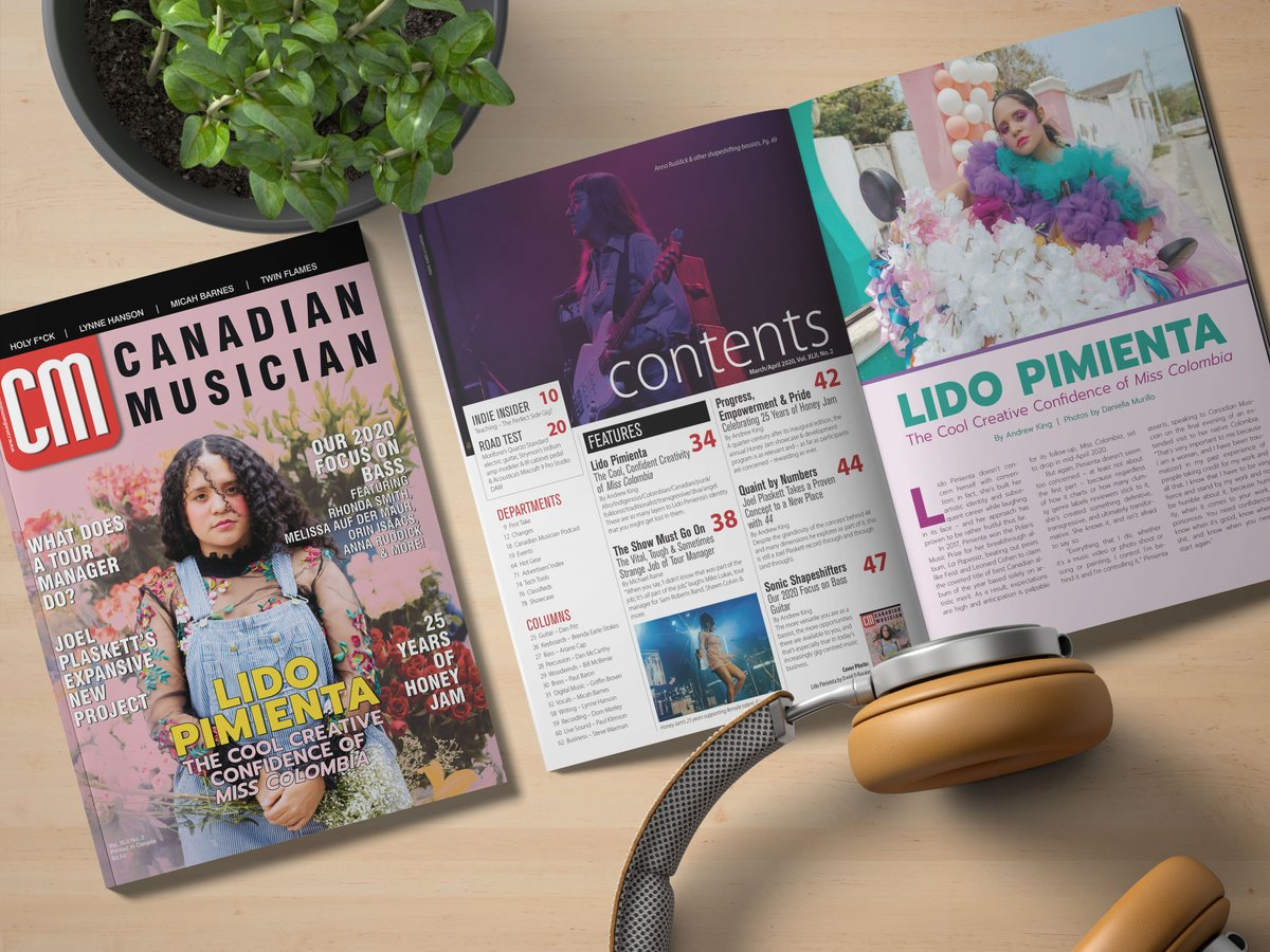 Get the March / April 2020 issue of CM featuring Lido Pimienta, Our 2020 Focus on Bass, 25 Years of Honeyjam and more!  Copies available at http://www.nwcmarket.com/canadian-musician-march-april-2020/ …  #CanadianMusician #lidopimienta #honeyjam #tourmanager #bassfocus #canadianmusic #canadianmusicindustrypic.twitter.com/WNAZxedI3Q