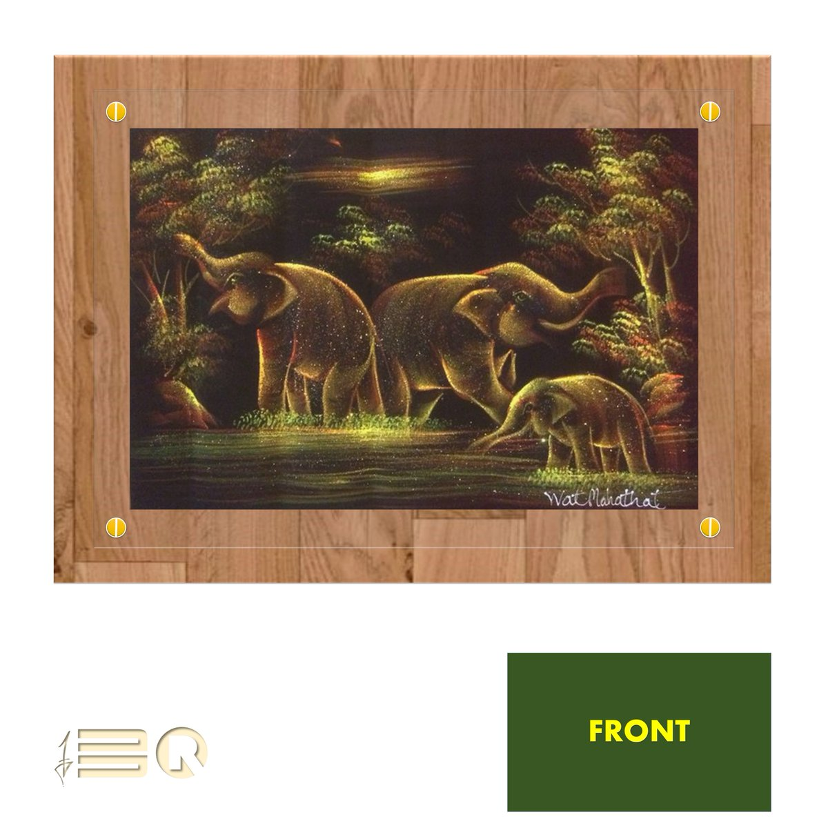 Art of Framing... Concept(s) Done, Order Placed With the Carpenter... Due Delivery = Next Week  #THAIelephants#ThrivingThursdaypic.twitter.com/WQjZnpv6Af