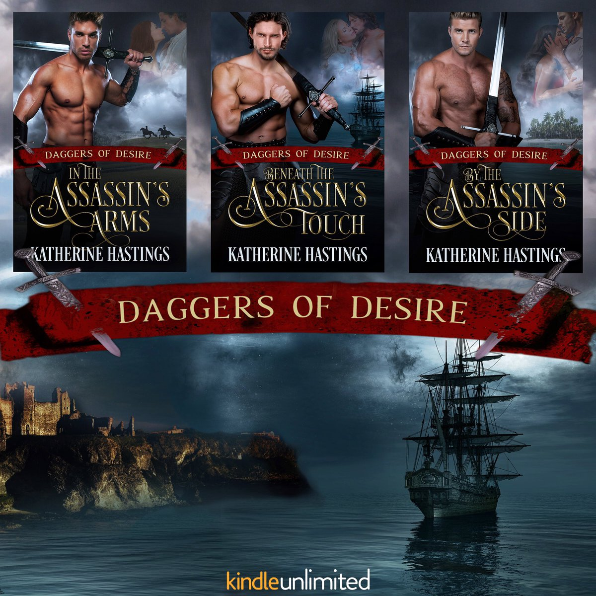 In the Assassin's Arms is FREE for a limited time! If you love action, adventure, and passion, start the series featuring sexy assassins, roguish pirates, and the strong women who fight beside them. Grab your copy of this historical romance today!  Amazon: